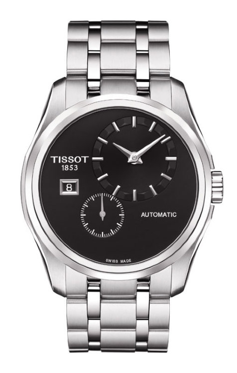 TISSOT T035.428.11.051.00 (T0354281105100) T-Trend Couturier Automatic Small Second