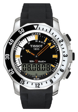 TISSOT T026.420.17.281.00 (T0264201728100) Touch Collection Sea-Touch