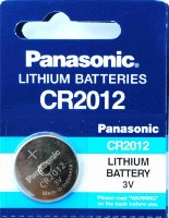 Батарейка таблетка Panasonic Lithium Power CR-2012EL/CR2012