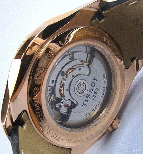 Tissot Mens T0356171605100 T-Trend Couturier Watch