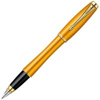 1892540 Перьевая ручка Parker Urban Premium Historical Colors Yellow GT F205, перо: F